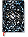 Paperblanks Intricate Inlays Mirror Vine Midi Notebook with Lined Pages