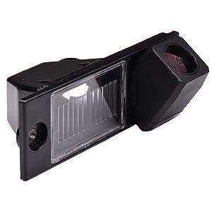 Backup Camera for Car, Waterproof Rear-view License Plate Rear Reverse Parking Camera for Hyundai Tucson/Tucson IX35 / Tucson IX/TL MK3 2015 2016 2017 2018