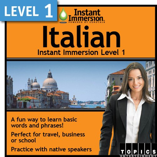 Instant Immersion Level 1 - Italian [Download]