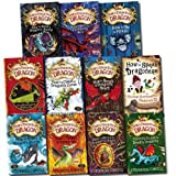 Cressida Cowell Hiccup How to Train Your Dragon 11 Books Collection Set (How to Betray a Dragon's Hero, Seize a Dragon's Jewel, steal a dragon's sword, be a Pirate, Speak Dragonese, Cheat a Dragon's Curse, Twist a Dragon's Tale, etc) (Vol 1 to 11)