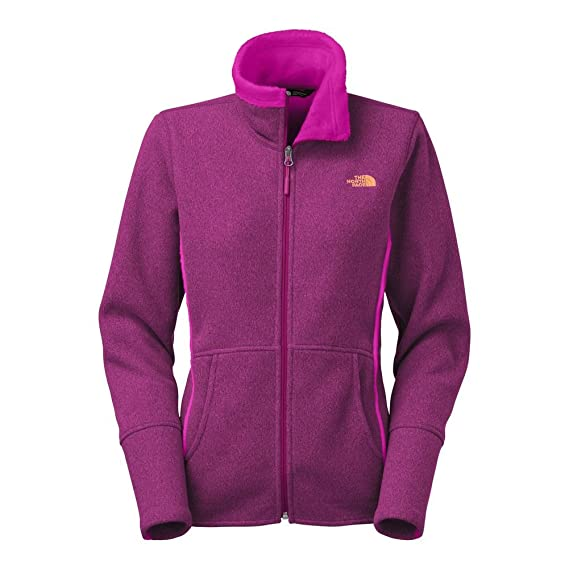The North Face Banderitas Full Zip Womens Dramatic Plum Heather L