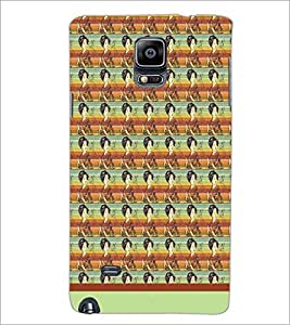 PrintDhaba Pattern D-1568 Back Case Cover for SAMSUNG GALAXY NOTE 2 (Multi-Coloured)