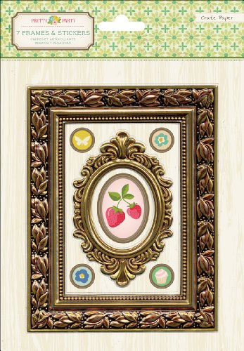 Crape Paper Pretty Party Foil Frames - 1