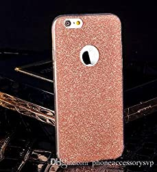 Darrel Apple iphone 5s soft sparkle Glittering Rose GOld back cover