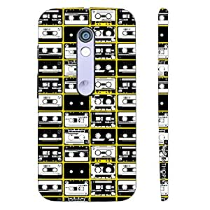 Motorola Moto X Play The Old Way of Music designer mobile hard shell case by Enthopia