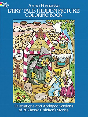 Fairy Tale Hidden Picture Coloring Book