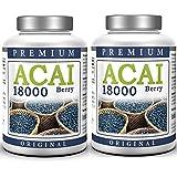 ACAI Berry 18000 Hochdosiert - Sparset - Premium Acai Beere (300 Stück)