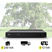 DVD LG Mini Blu-ray-Player mit HDMI, USB, 12Volt + 230 Volt Wohnmobil, Boot, LKW etc.