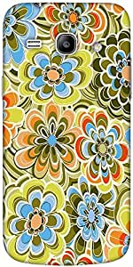 Snoogg Yellow Flower Pattern 2478 Solid Snap On - Back Cover All Around Prote...