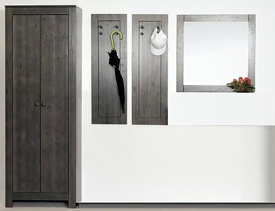Guardaroba di 5pezzi set Realizzato in legno di pino massiccio, assi di set, diele Mobili