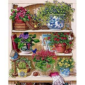 Anself 36 48cm diy strass tableau peinture de forage au for Decoration maison strass