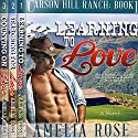 Carson Hill Ranch Box Set: Carson Hill Ranch, Books 1 - 3) Audiobook by Amelia Rose Narrated by Valerie Gilbert