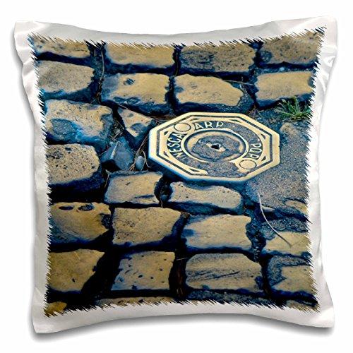 Danita Delimont - Rome - Street cobblestones in Trastevere, Rome, Itlay - EU16 MCU0024 - Mel Curtis - 16x16 inch Pillow Case (pc_82125_1)