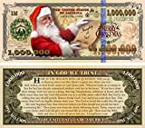Christmas Santa Claus Million Dollar Bill Tract (20 Pack) Pamphlet