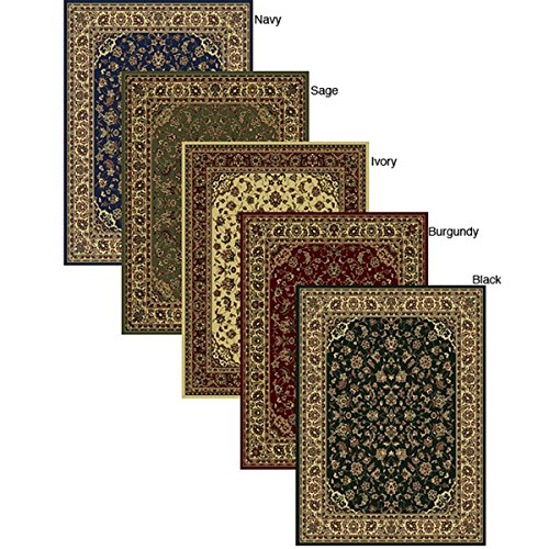 Contemporary Caroline Sarouk Emerlen Elegant Area Rug (5'5 X 7'7) Beautiful and Modern!