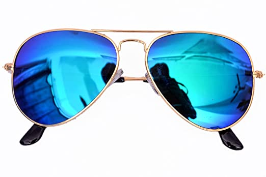 aviator blue sunglasses  Rst Aviator Unisex Sunglasses(130