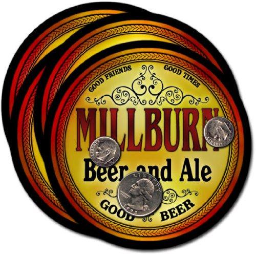 Millburn Beer & Ale Coasters