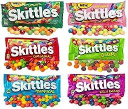 All American Skittles Assortment 6 Flavors 18 packs - EZ-SHIP PACK