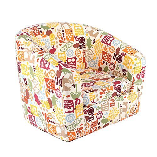 emall-life-kids-childrens-roundy-chair-cartoon-sofa-wooden-frame-under-the-sea-balloon-animals-owl-f