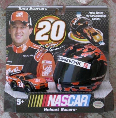 Nascar Tony Stewart Helmet Racer 20 - 1