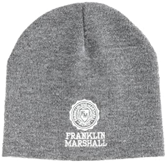 Franklin & Marshall - Casquette de Baseball Mixte - CPUA9008W13 - Gris (GREY MELANGE) - FR : Taille unique (Taille fabricant : one size)