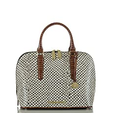 Vivian Dome Satchel<br>Onyx Java