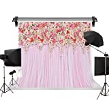 Kate 10x6.5ft/3m(W) x2m(H) Wedding Backdrops Bridal Shower Decoration Pink Curtains Backdrop Wedding Party Backgrounds Photography Studio (Color: B8398, Tamaño: 10x6.5ft)