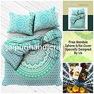 Exclusive BOHO DUVET COVER WITH PILLOWCASES By