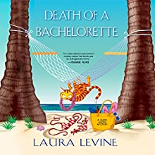 Death of a Bachelorette Audiobook by Laura Levine Narrated by Brittany Pressley