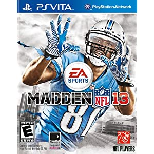 Madden NFL 13 PS Vita Video Game