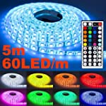 5m RGB LED Strip Leiste mit 60LED/m u...