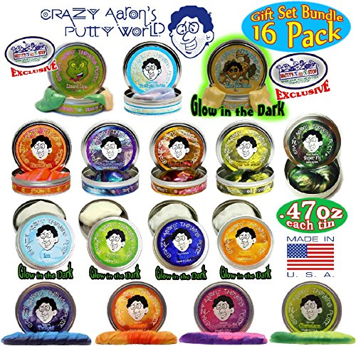crazy-aarons-thinking-putty-mini-tins-complete-gift-set-bundle-featuring-hypercolor-glow-in-the-dark