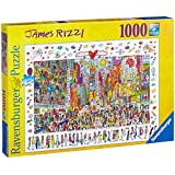 Ravensburger James Rizzi Times Square Jigsaw Puzzle (1000 Piece)