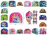 Children Cartoon Hello Kitty Disney Boy Girl Swimming Hat Swim Cap (Barbie)