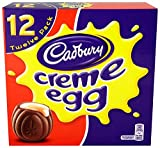 Cadbury Creme Egg (Pack of 12, 1 Box)