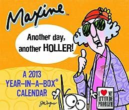 2013 Maxine Year-In-A-Box Calendar