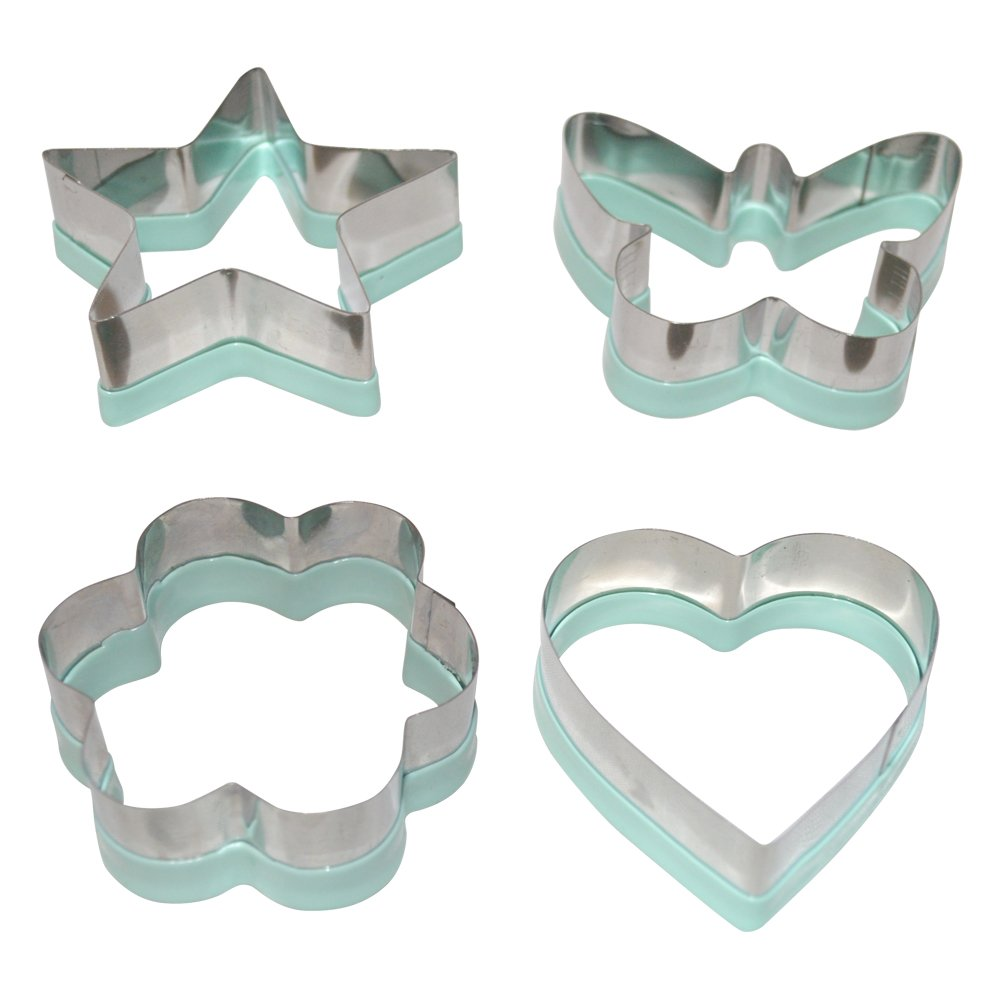 Stainless Steel Sandwich Cutters Heart Flower Butterfly Star