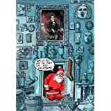 Father Cristmas at the Soane' by Peter Schrank