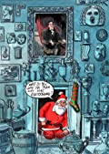 Father Christmas at the Soane' by Peter Schrank