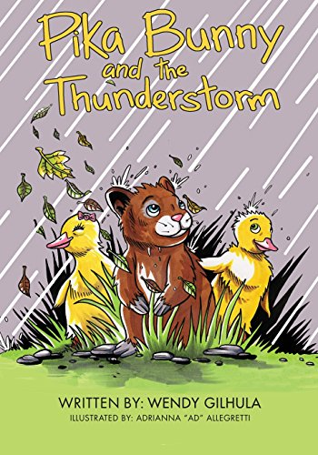 Pika Bunny and the Thunderstorm [Gilhula, Wendy] (Tapa Blanda)