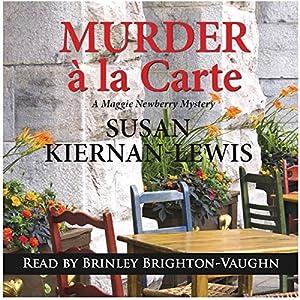 Murder a la Carte Audiobook