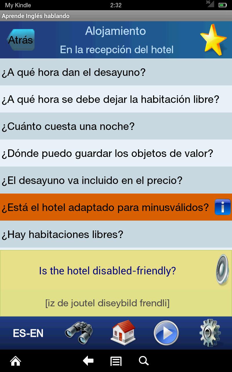 Amazon.com: Aprende Inglés hablando: Appstore for Android