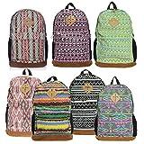 Eabag Retro Plaid School Backpack Casual Daypack