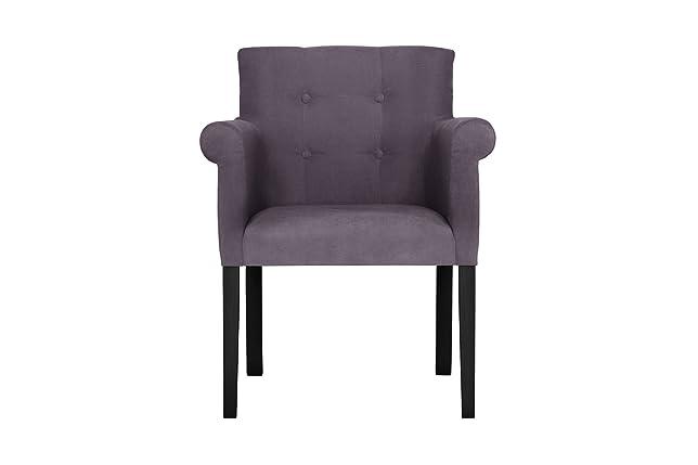 Sedia a Braccioli flaconcino, Lavanda–Touch Cotone