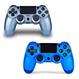 2 Pack Controller for PS4,Wireless Controller for Playstation 4 with Dual Vibration Game Joystick (TL) (Color: TL)