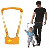 Baby walking assistant Learning To Walk Assistant walking safety harness (Orange) (Color: Orange)