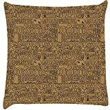Snoogg Abstract Cushion Cover Throw Pillows 16 X 16 Inch