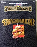 Draconomicon(Advanced Dungeons & Dragons) 2nd Edition, Forgotten Realms OFFICIAL GAME ACCESSORY (0880388765) by Nigel Findley