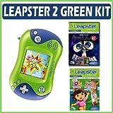 Leapfrog Leapster 2 Green w/ 2 Bonus Games