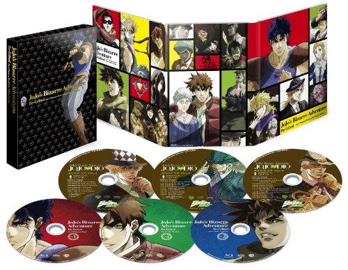 【Amazon.co.jp限定】ジョジョの奇妙な冒険 総集編Blu-rayセット(描き下ろし収納BOX、オーディオコメンタリー付き)